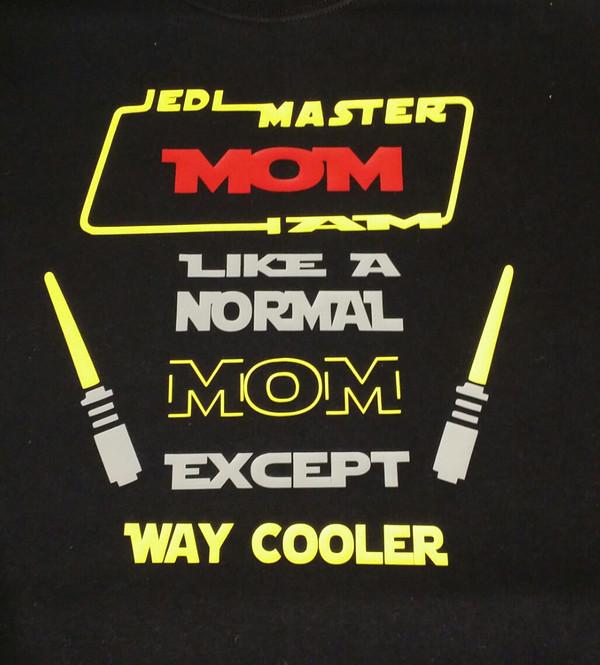 Jedi Master Mom