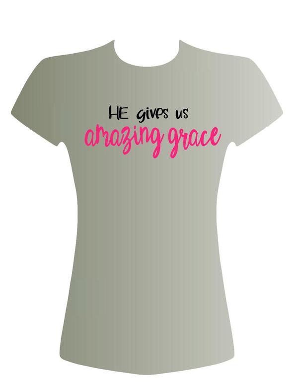 He Gives Us Amazing grace
