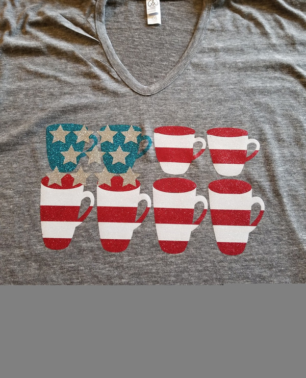Sparkle Coffee Shirt