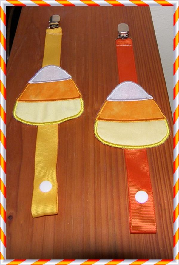 Binkie Clip  Cupcake, Tie, Bowtie
