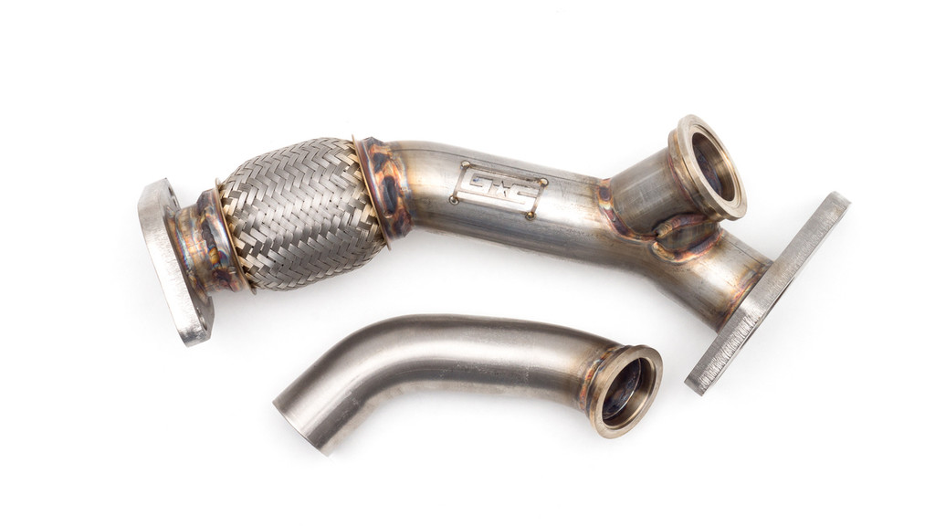 External Wastegate Up Pipe w/ Dump Tube 44/45mm V-Band WRX/STI/LGT/FXT