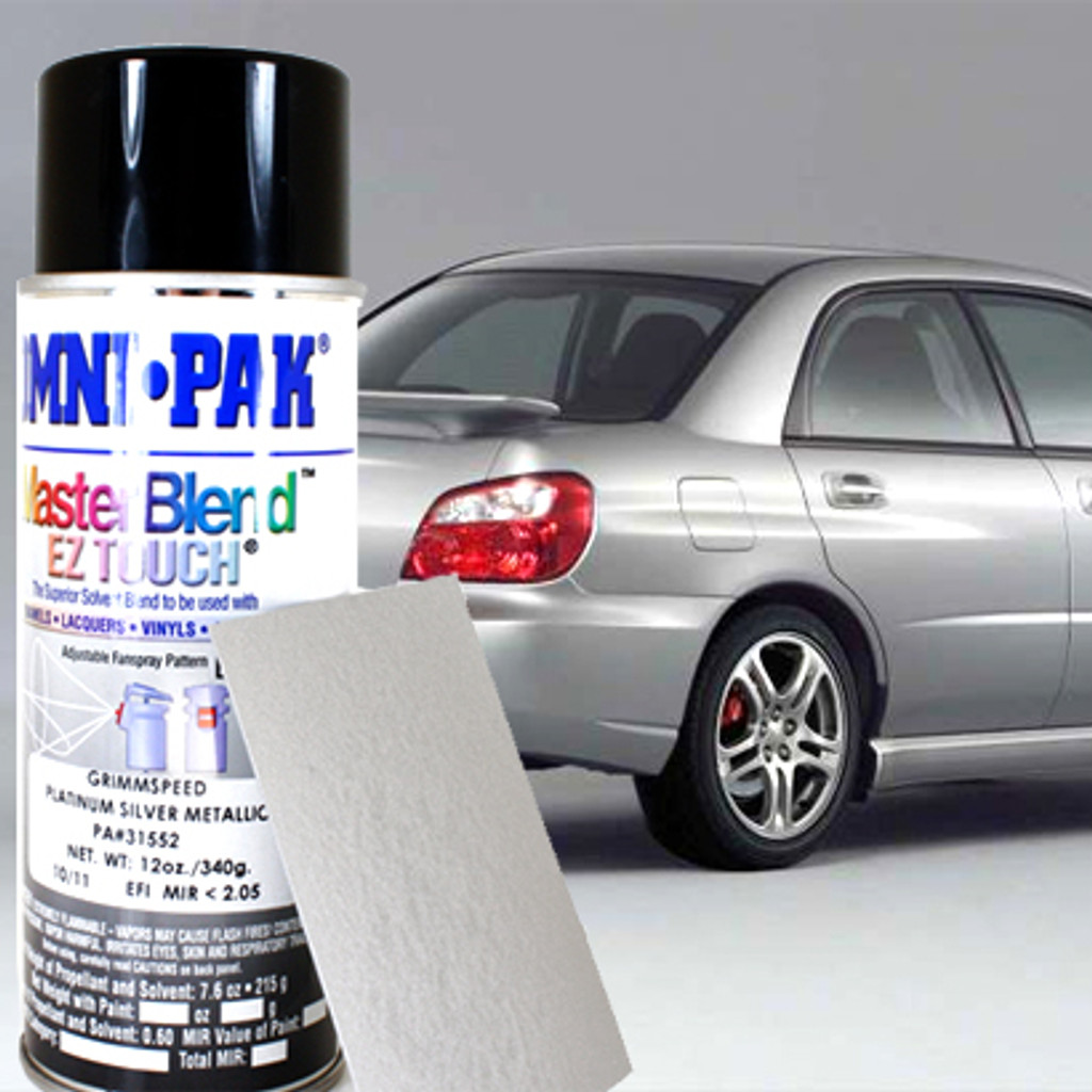 Platinum Silver Metallic Subaru Paint Compare