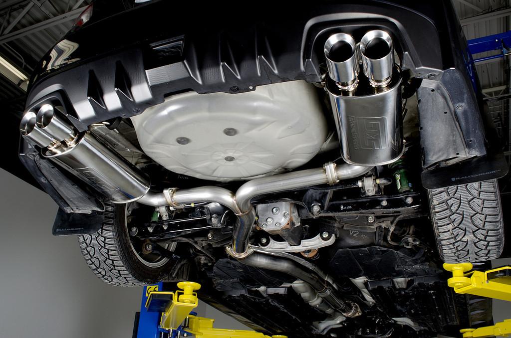 Catback Exhaust System - Un-Resonated - 15-18 WRX/STI, 11-14 WRX/STI Sedan