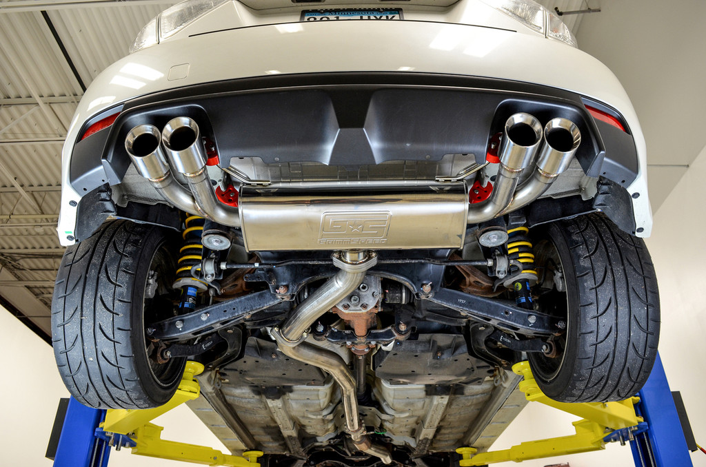 Catback Exhaust System - Resonated - 11-14 WRX , 08-14 STI Hatchback