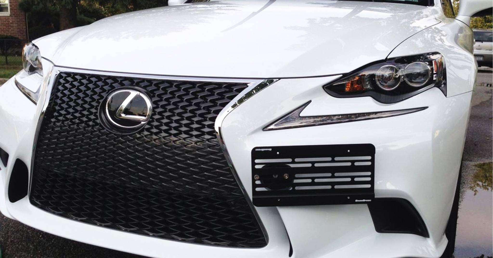 Replace Lx1068103 Front License Plate Bracket