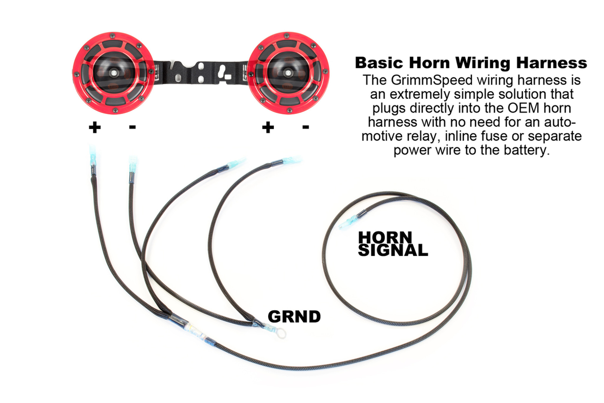 hella horn wiring harness 02 14 wrx 04 14 sti grimmspeed rh grimmspeed com 5 Pin Relay Wiring Diagram Jeep Fog Light Wiring Diagram