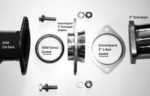 "GrimmSpeed Subaru 3"" Downpipe Adapter"