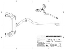 Catback Exhaust System - Un-Resonated - 11-14 WRX , 08-14 STI Hatchback