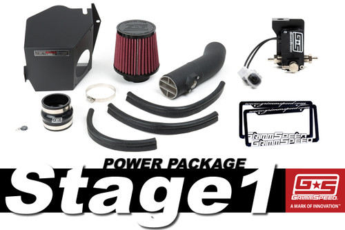 GrimmSpeed Stage 1 Power Package - 08-14 Subaru WRX