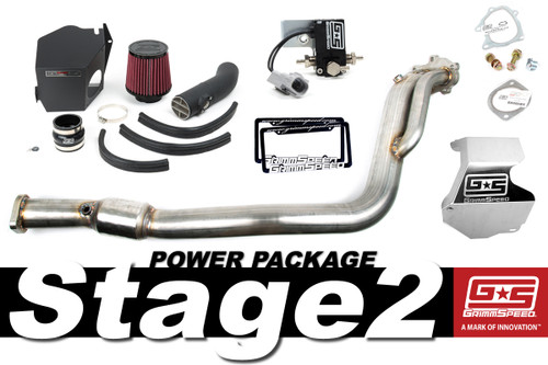 GrimmSpeed Stage 2 Power Package - 08-14 Subaru STI