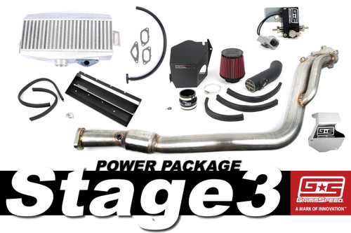 GrimmSpeed Stage 3 Power Package - 08-14 Subaru STI