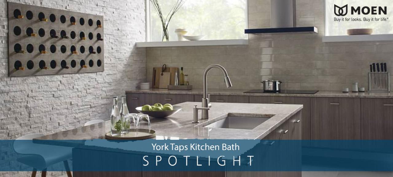 Kitchen Faucets - Moen Kitchen Faucets - York Taps
