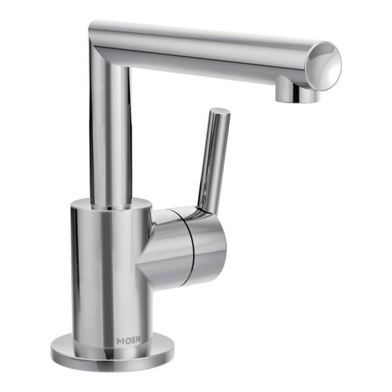 Moen Arris One-Handle Bathroom Faucet Chrome Finish - York Taps