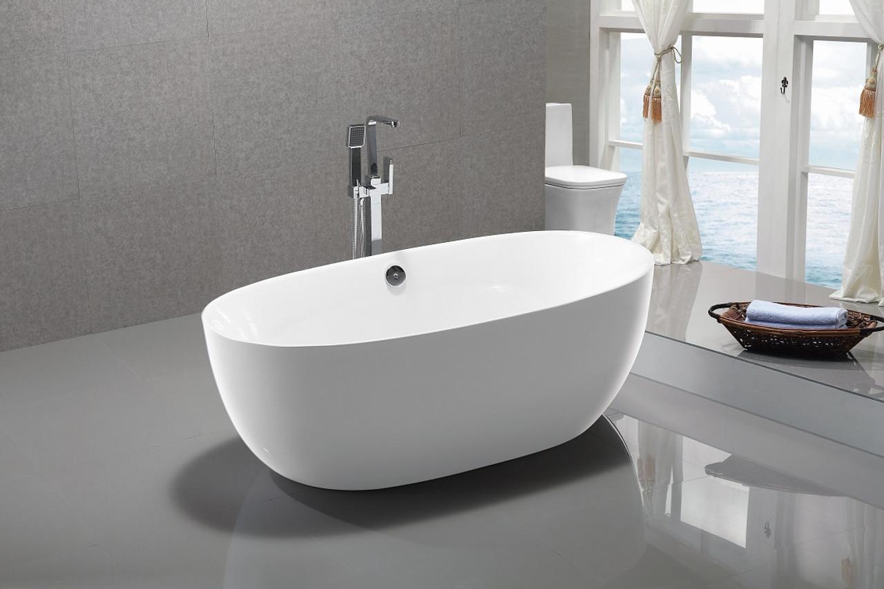 bath htm brezza tub p bathtub standing free the