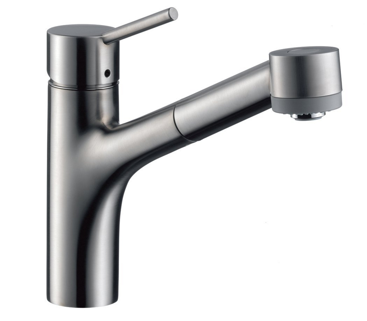 Hansgrohe 6462860 Talis S 2-Spray Kitchen Faucet, Pull-Out Stainless ...