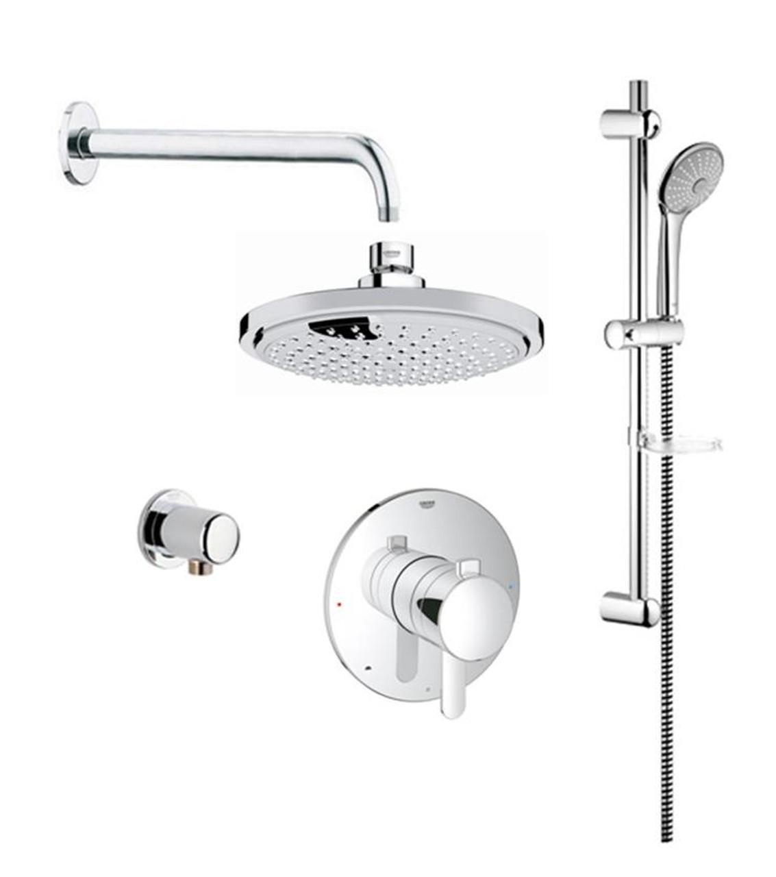 Grohe Cosmopolitan PBV Dual Function Shower Kit - York Taps