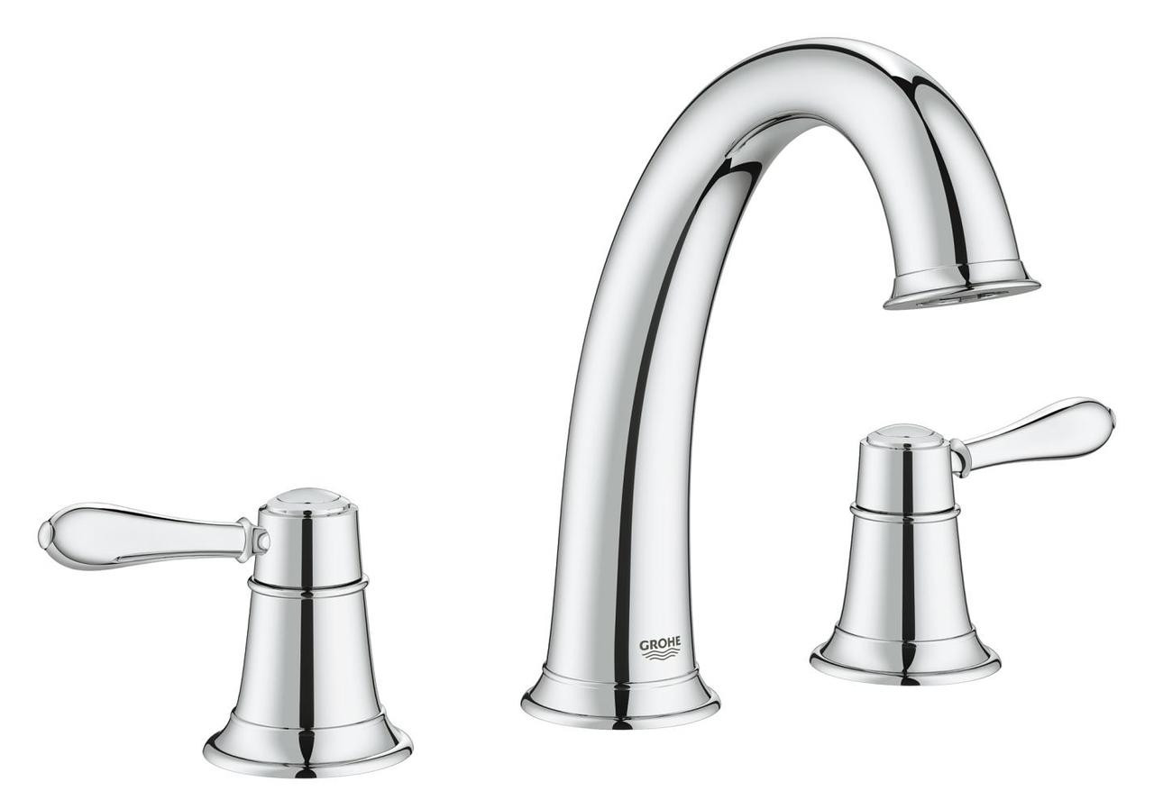 Grohe Fairborn Lavatory Widespread Faucet Chrome - York Taps