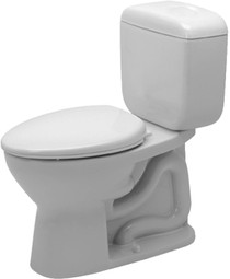 Duravit Duraplus Two Piece Elongated Toilet Kit