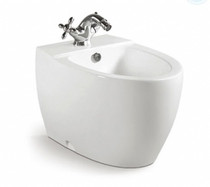 Bahama Single Hole Bidet White