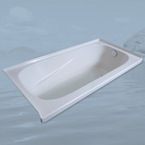 Mirolin Gryphon Acrylic Alcove Drop In Bathtub Left