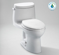 Toto UltraMax II Elongated Toilet 1.28 GPF with SanaGloss - ADA