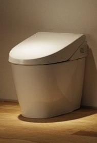 Toto Neorest 550 Dual Flush Toilet, 1.6 GPF & 1.05 GPF with SanaGloss