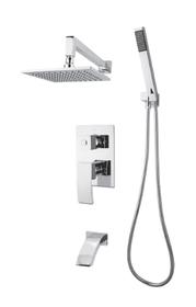 Rubi Fall Shower kit pressure balanced 3 ways diverter