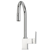 Rubi Pesto NuSpice2 Single-hole kitchen faucet with integrated 2 jet pull-down spray and swivel head flexible hose