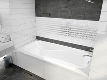 "Mirolin Raven Drop-in Tub 60"" LH drain"