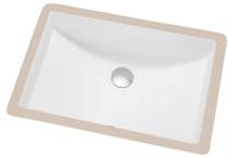 """Modern Undermount Bathroom Sink 21"""" x 14.5"""""""