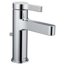 Moen Vichy One-Handle Bathroom Faucet Chrome Finish