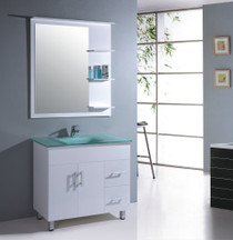 "Jane 36"" Bathroom Vanity White"