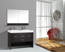 "Grace 48"" Double Sink Bathroom Vanity"