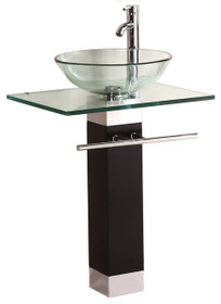 "Sunderland 24"" Bathroom Vanity Glass Top"