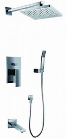 Royal Atlantic Square 3-way Shower