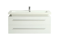 "Rubi Arto 48""  Wall Mount Bathroom Vanity"