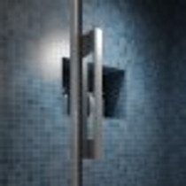 "Kalia Rollax Square - Sliding Doors Shower Enclosure  60''X 32""X 77'"