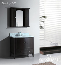 "Destiny 36"" Bathroom Vanity Espresso"