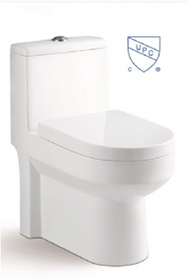 "Crown Arrow Dual Flush Toilet 24"" Depth"