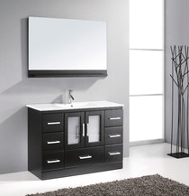 "Oakville 55"" Bathroom Vanity Espresso"