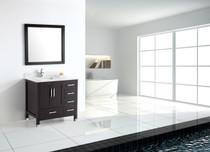 """Armada 42"""" Bathroom Vanity Espresso"""
