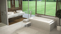 Mirolin Lux 66 x 34 Drop in Bath Tub