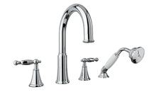Rubi Qabil Tub Filler Faucet with Handshower Chrome RAR24