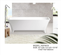 Mirolin Andy Solid Surface Freestanding Bath Tub