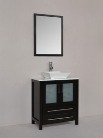 "Vaughn 30"" Bathroom Vanity Espresso"