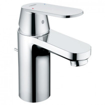 Grohe Eurosmart Single Hole Bathroom Faucet with Single Lever Handle  With Drain