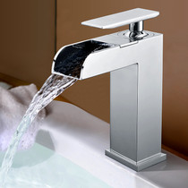 Royal Ona Single Handle Waterfall Faucet Chrome