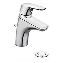 Moen Method One-Handle Low Arc Bathroom Faucet Chrome Finish