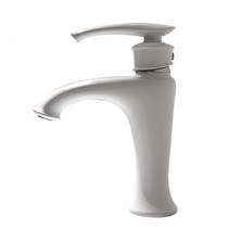 Royal Dawson Single Hole Faucet Gloss White