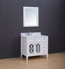 "Casa 36"" bathroom Vanity White"